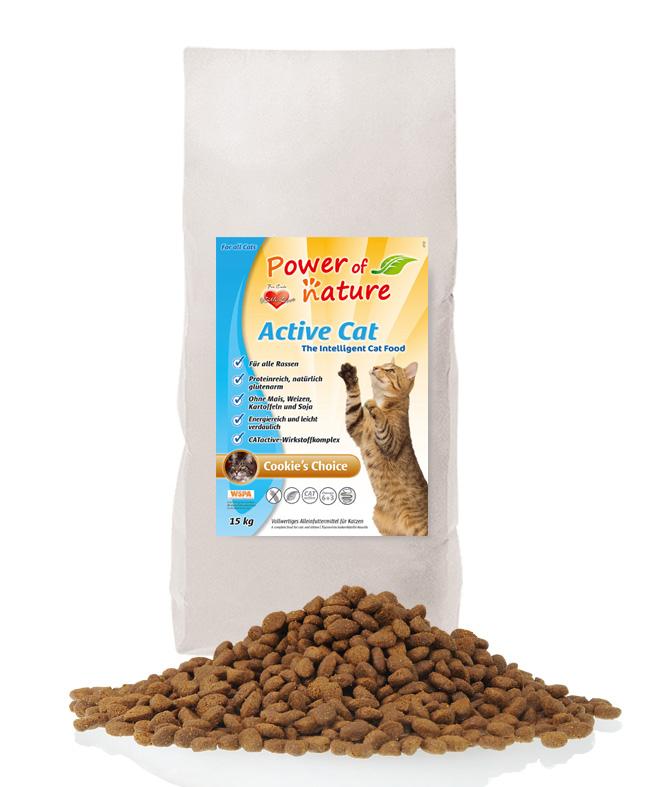 Power of Nature - Active Cat - Cookie's Choice Kurczak