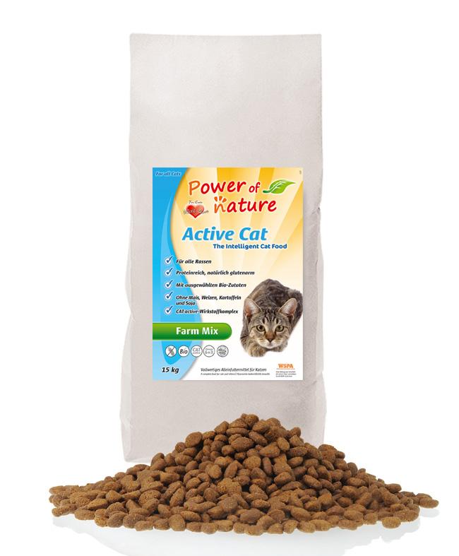Power of Nature - Active Cat - Farm Mix