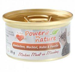 Power of Nature - Minkas Meat on Monday - królik zprzepiórką
